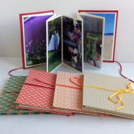 Carnets accordéons / album photos