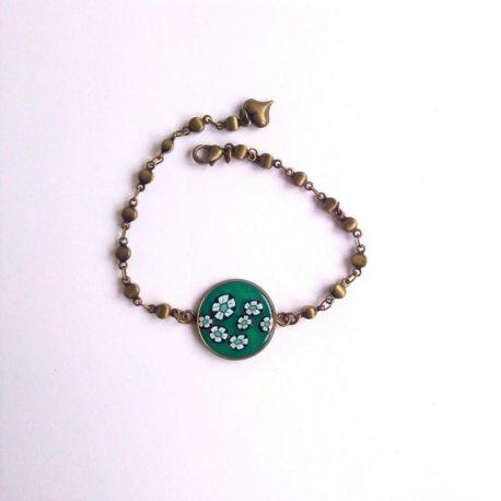 Bracelet minimaliste esprit japonisant