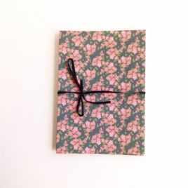 Album décor fleurs roses