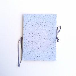 album décor bleu pois
