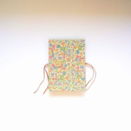 carnet accordéon floral