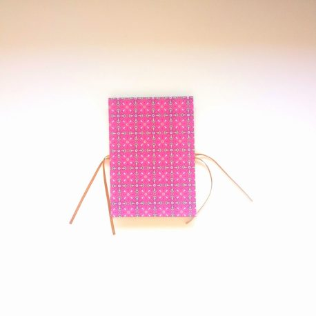 carnet accordéon rose